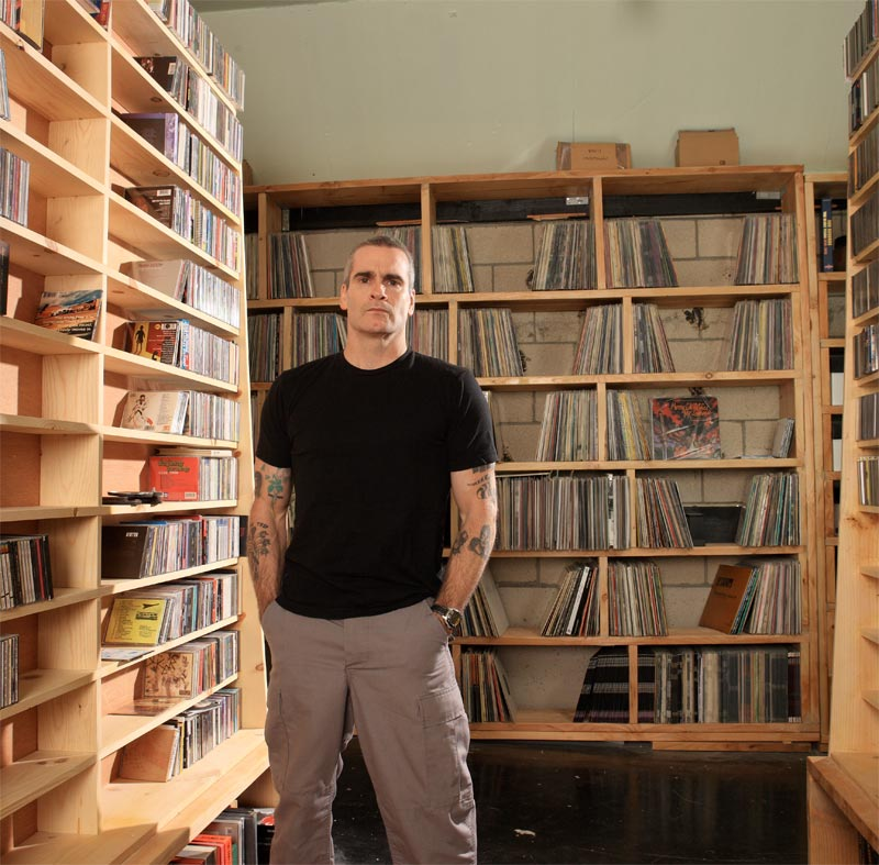 Henry Rollins Weightlifting