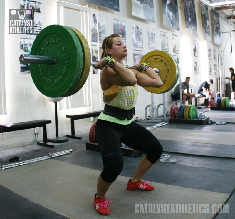 Body Image & Bodyweight in Weightlifting, Jessica Salvaggio,