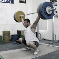 The Relation of Snatch, Clean & Jerk and Squat Weights, Greg Everett
