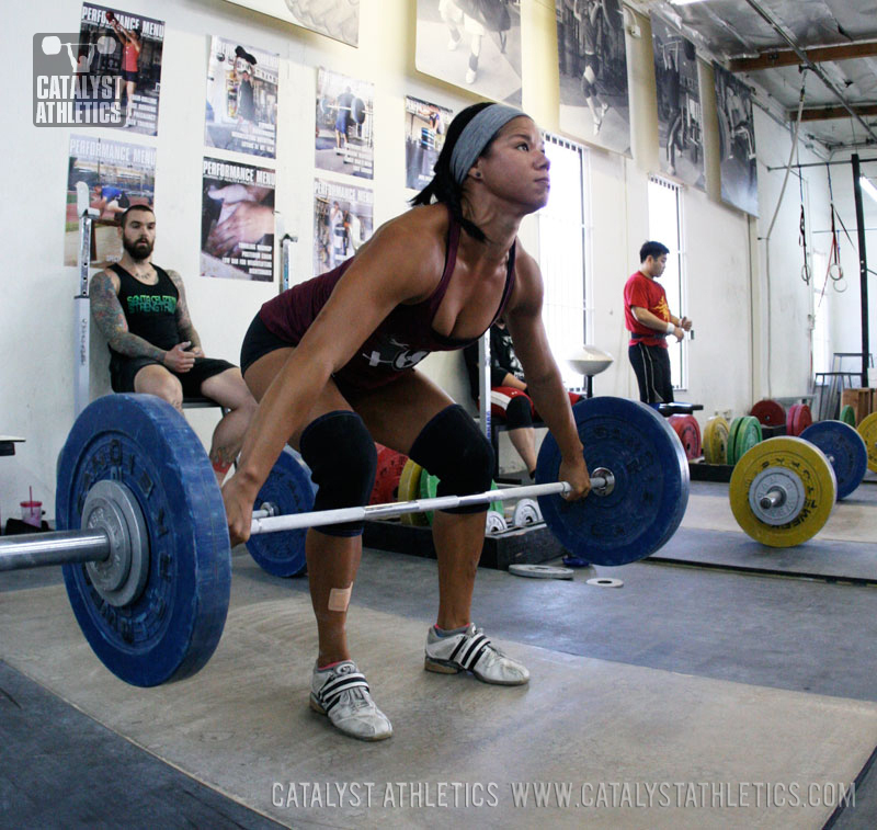 Chyna snatch - Olympic Weightlifting, strength, conditioning, fitness, nutrition - Catalyst Athletics