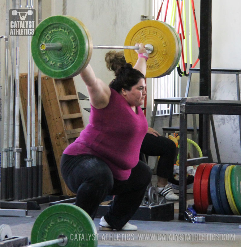 Tamara snatch - Olympic Weightlifting, strength, conditioning, fitness, nutrition - Catalyst Athletics