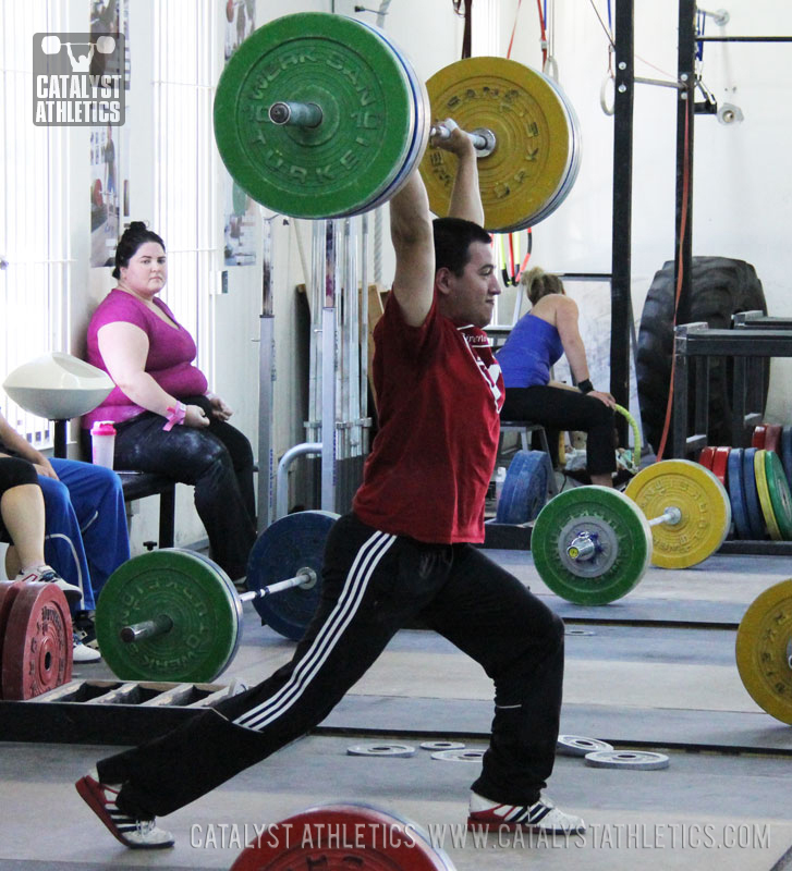 Mike jerk - Olympic Weightlifting, strength, conditioning, fitness, nutrition - Catalyst Athletics