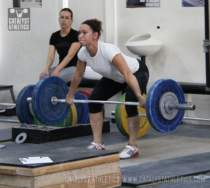 Alyssa snatch - Olympic Weightlifting, strength, conditioning, fitness, nutrition - Catalyst Athletics