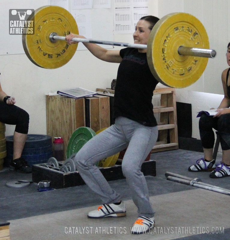 Audra snatch - Olympic Weightlifting, strength, conditioning, fitness, nutrition - Catalyst Athletics