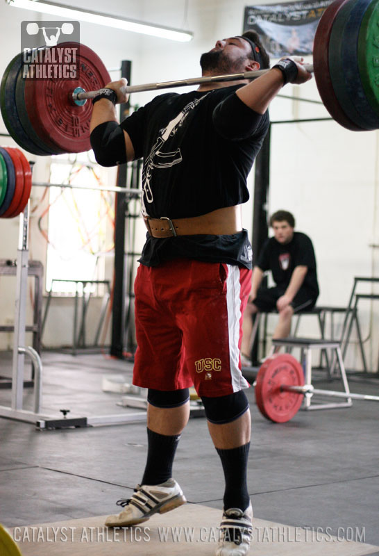Brian jerk - Olympic Weightlifting, strength, conditioning, fitness, nutrition - Catalyst Athletics