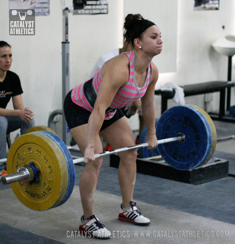Alyssa clean - Olympic Weightlifting, strength, conditioning, fitness, nutrition - Catalyst Athletics