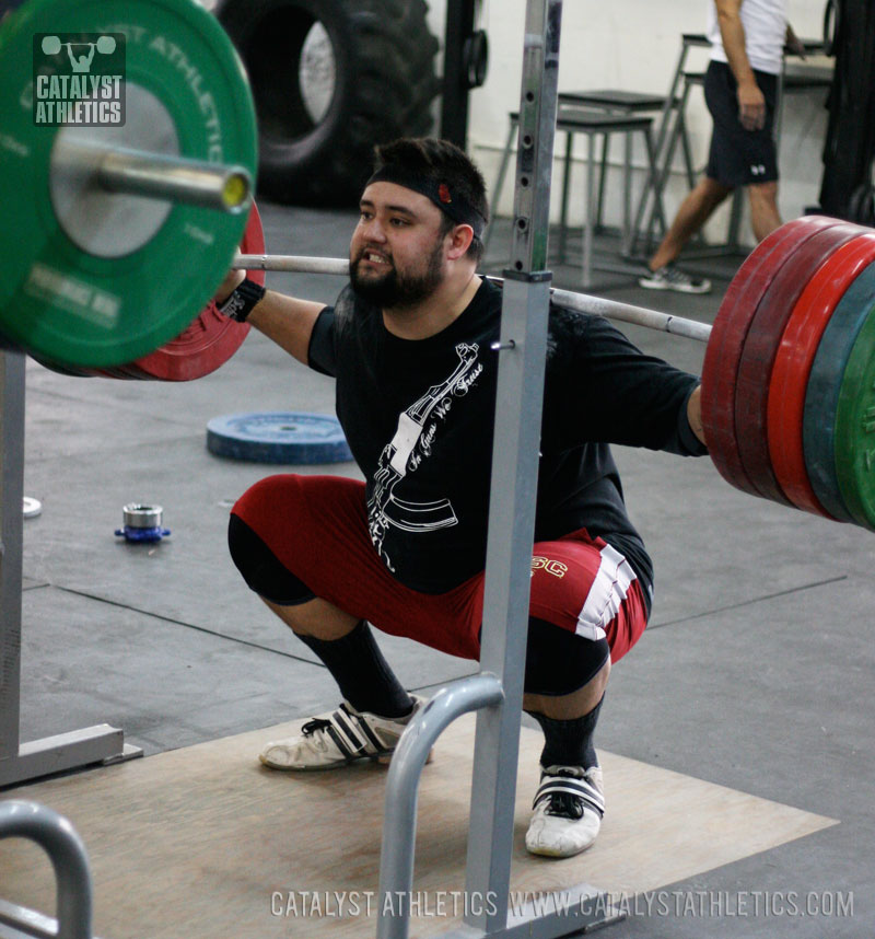 Brian squat - Olympic Weightlifting, strength, conditioning, fitness, nutrition - Catalyst Athletics