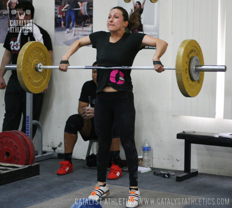 Audra Snatch High-Pull - Olympic Weightlifting, strength, conditioning, fitness, nutrition - Catalyst Athletics