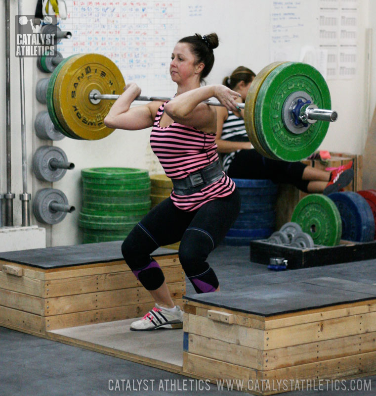 Aimee Block Power Clean - Olympic Weightlifting, strength, conditioning, fitness, nutrition - Catalyst Athletics