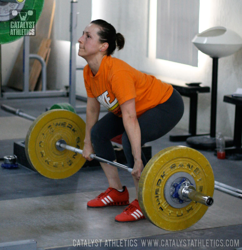 Audra Clean - Olympic Weightlifting, strength, conditioning, fitness, nutrition - Catalyst Athletics