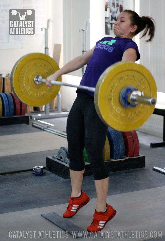Alyssa Power Snatch - Olympic Weightlifting, strength, conditioning, fitness, nutrition - Catalyst Athletics