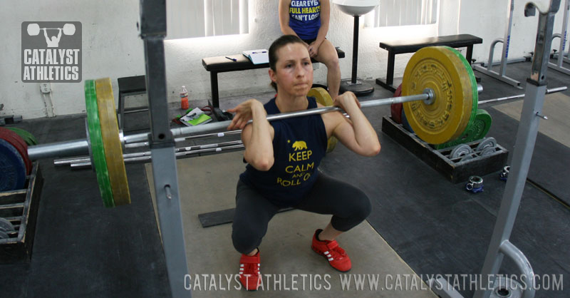 Audra Squat - Olympic Weightlifting, strength, conditioning, fitness, nutrition - Catalyst Athletics