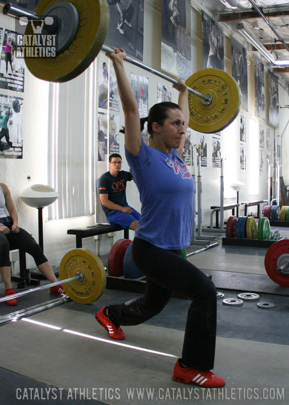 Audra Jerk - Olympic Weightlifting, strength, conditioning, fitness, nutrition - Catalyst Athletics