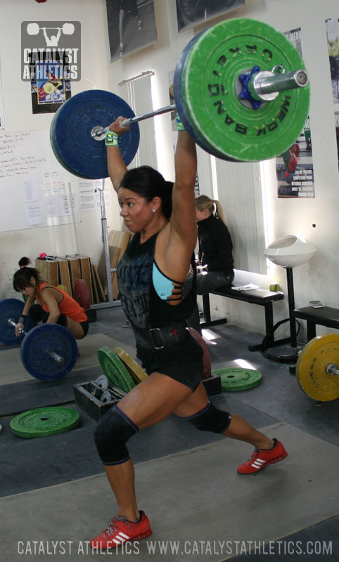 Chyna Jerk  - Olympic Weightlifting, strength, conditioning, fitness, nutrition - Catalyst Athletics