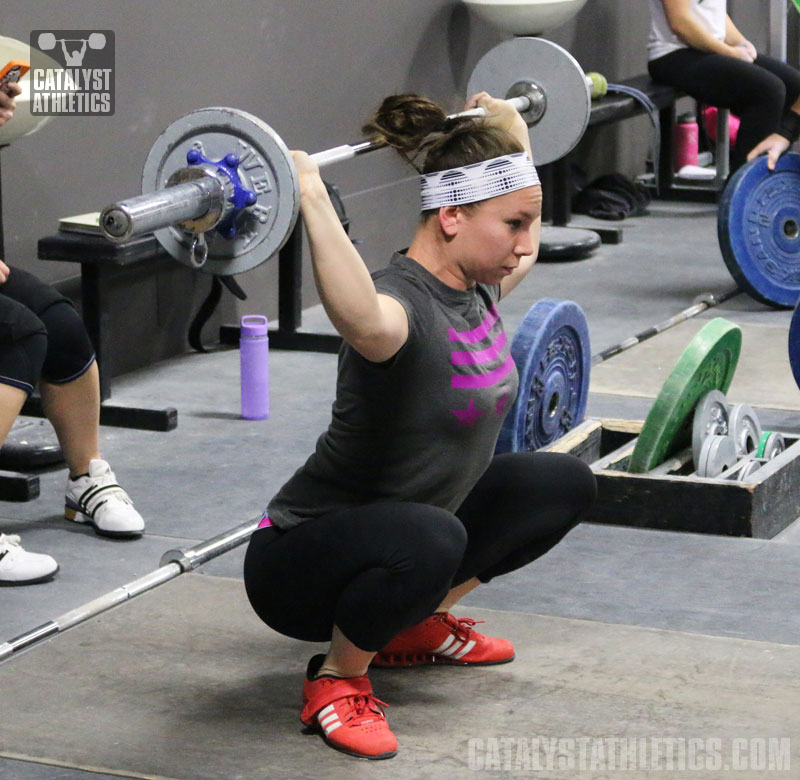 Alyssa Snatch Grip Sots Press BNK - Olympic Weightlifting, strength, conditioning, fitness, nutrition - Catalyst Athletics
