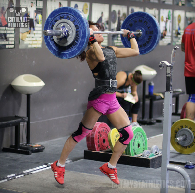 Olympic weightlifting training