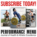 Performance Menu: Journal of Health & Athletic Excellence - Subscribe Today!