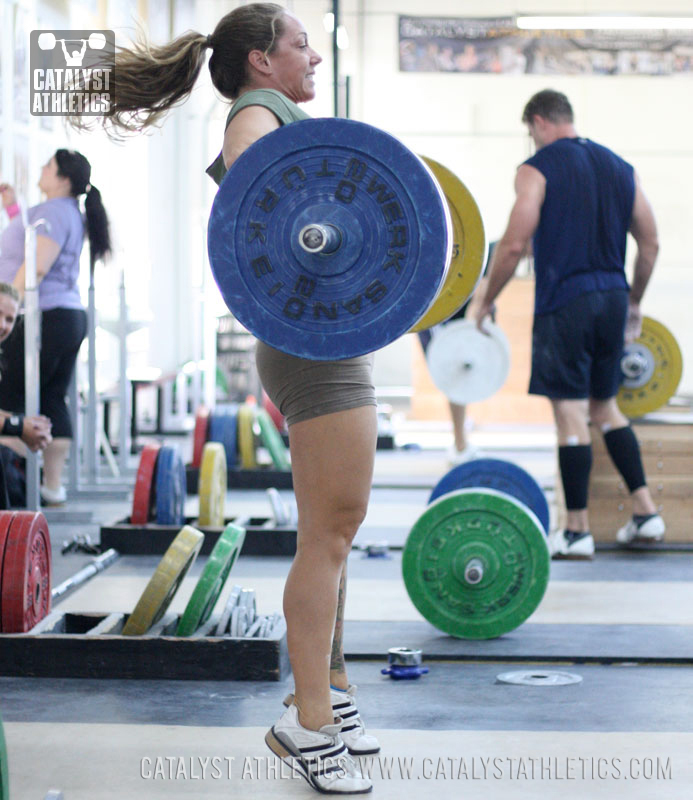 The Trouble With Pulls Snatch Amp Clean Pull Weights By