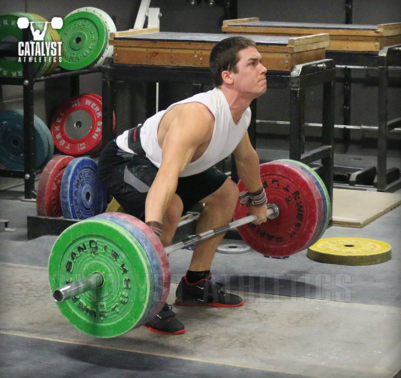 763efdd09300 The Olympic Lift Starting Position  Snatch   Clean by Greg Everett ...