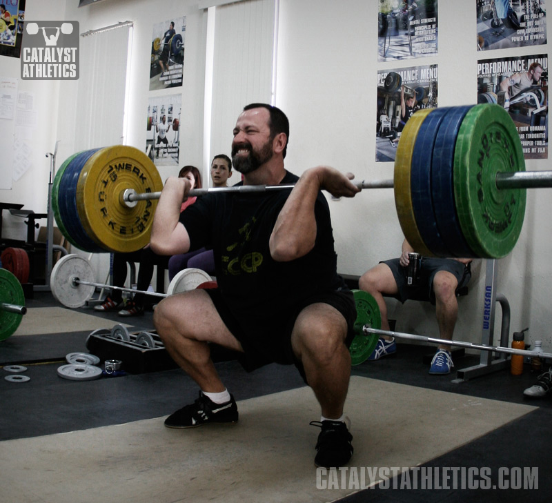 Sample Masters Weightlifting Training Program by Greg