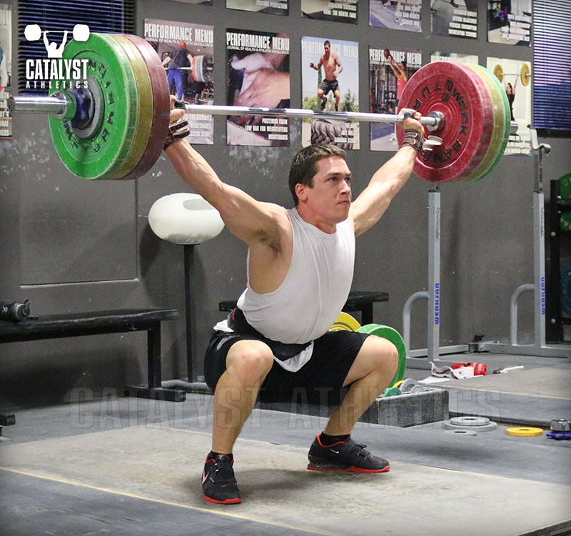 Overhead Stability in the Snatch