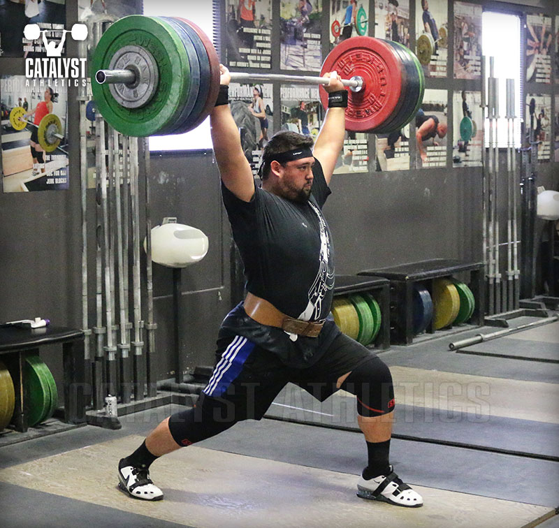 Lowering The Bar Between Reps In The Snatch Clean And