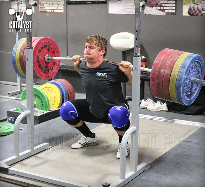 The Relation of Snatch, Clean Jerk and Squat Weights