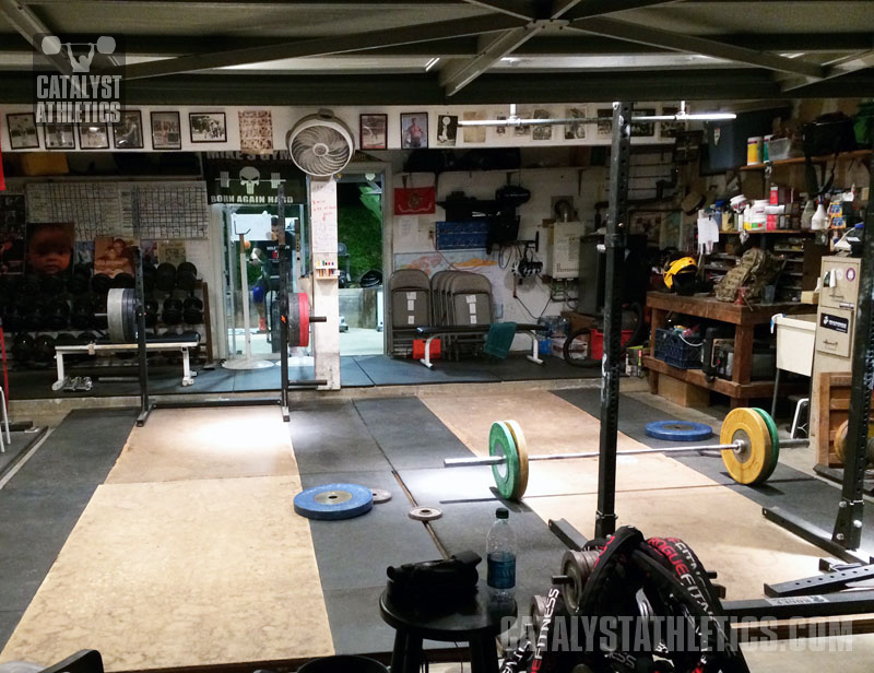 Why i train with my garage door open by matt foreman olympic