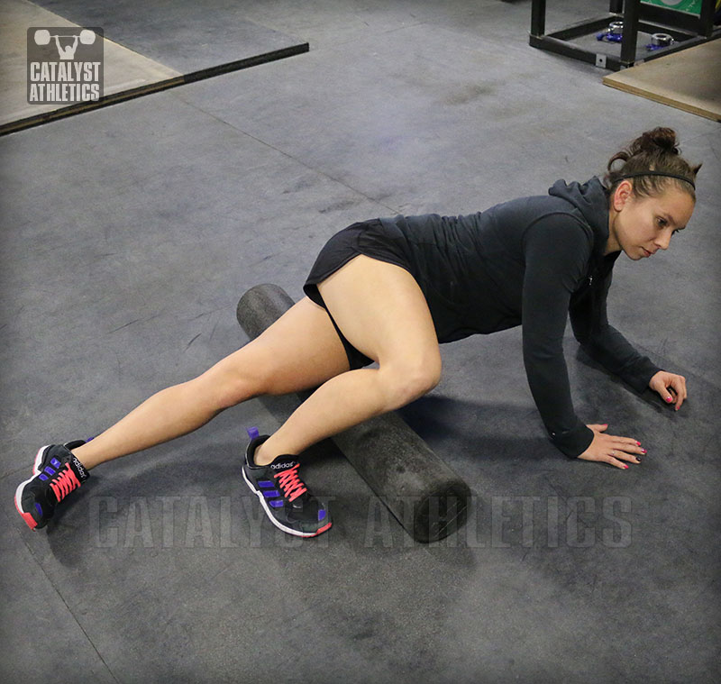 Pre-Workout Foam Rolling For Olympic Weightlifting By Greg