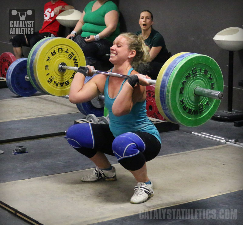 Why Weightlifters Should Front Squat With A Closed Fist Instead Of Two Fingers By Matt Foreman Olympic Weightlifting Catalyst Athletics Olympic Weightlifting