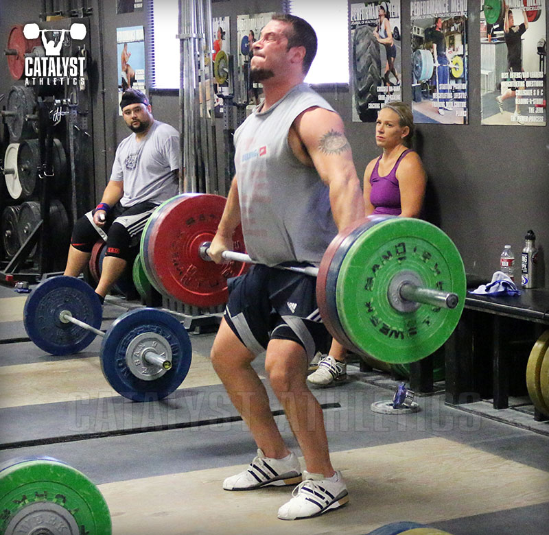 Snatch And Clean Shift Your Torso Vertical Legs Under