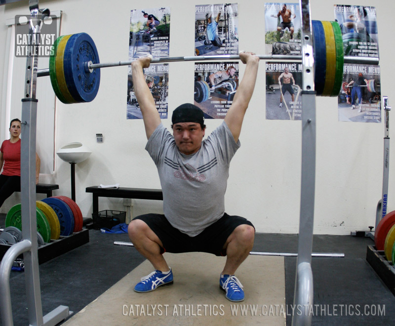 Flexibility For The Overhead Squat By Greg Everett