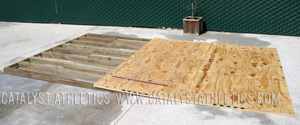 Building a lifting platform on a slope by greg everett equipment