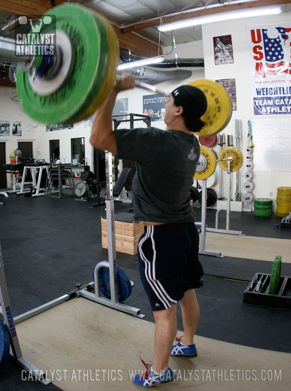The Push Press: Use Your Legs