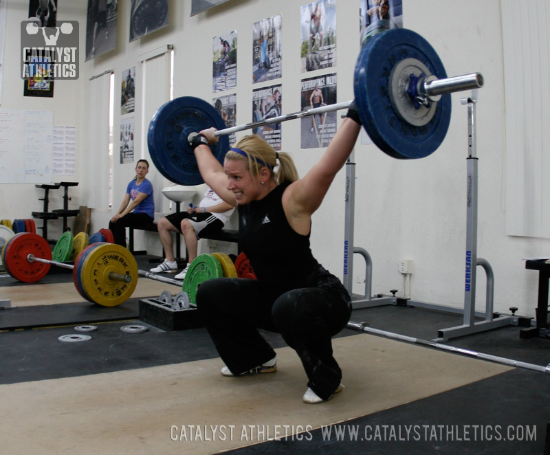 Sample One Week Weightlifting Training Program By Matt Foreman Olympic Weightlifting