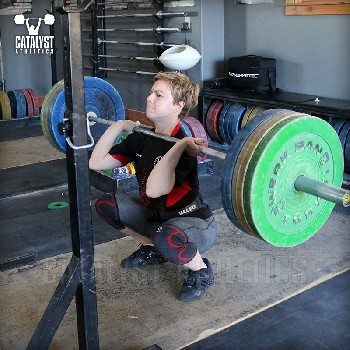 The Olympic Weightlifting Squat by Greg Everett - Olympic