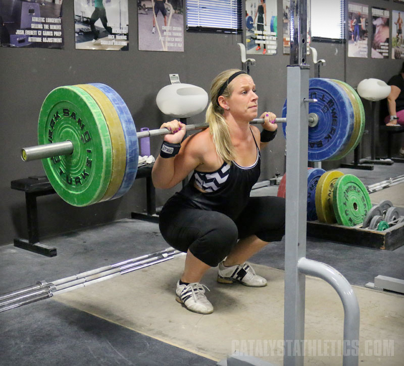 Concentric Phase of a Squat