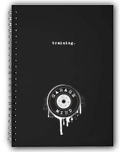 Garage Mind Mental Training Journal by Aimee Everett