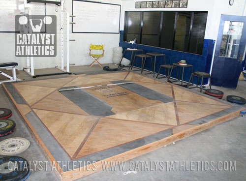 Competition Platform At Newport Harbor High School