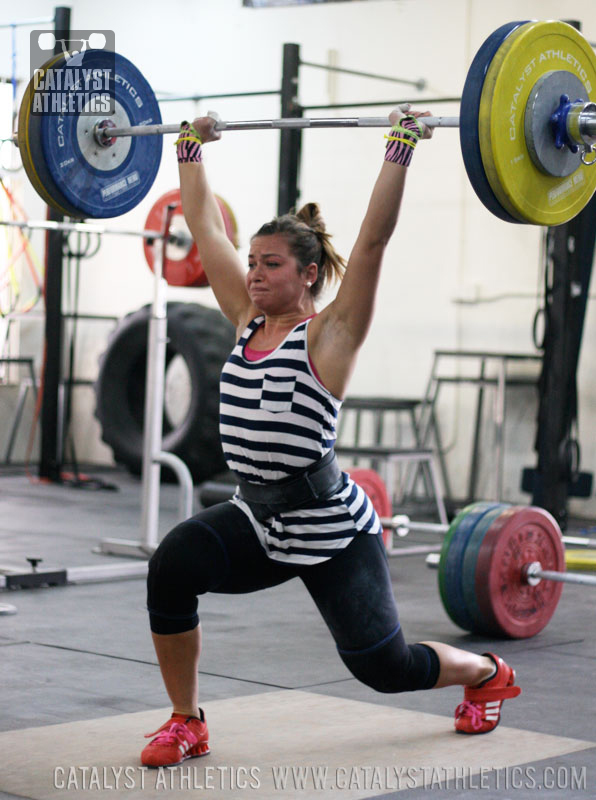 Jessica Jerk - Olympic Weightlifting, strength, conditioning, fitness, nutrition - Catalyst Athletics