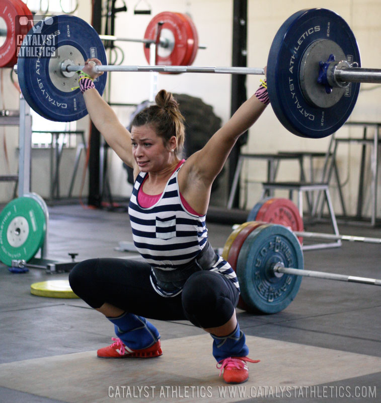 Jessica Snatch - Olympic Weightlifting, strength, conditioning, fitness, nutrition - Catalyst Athletics