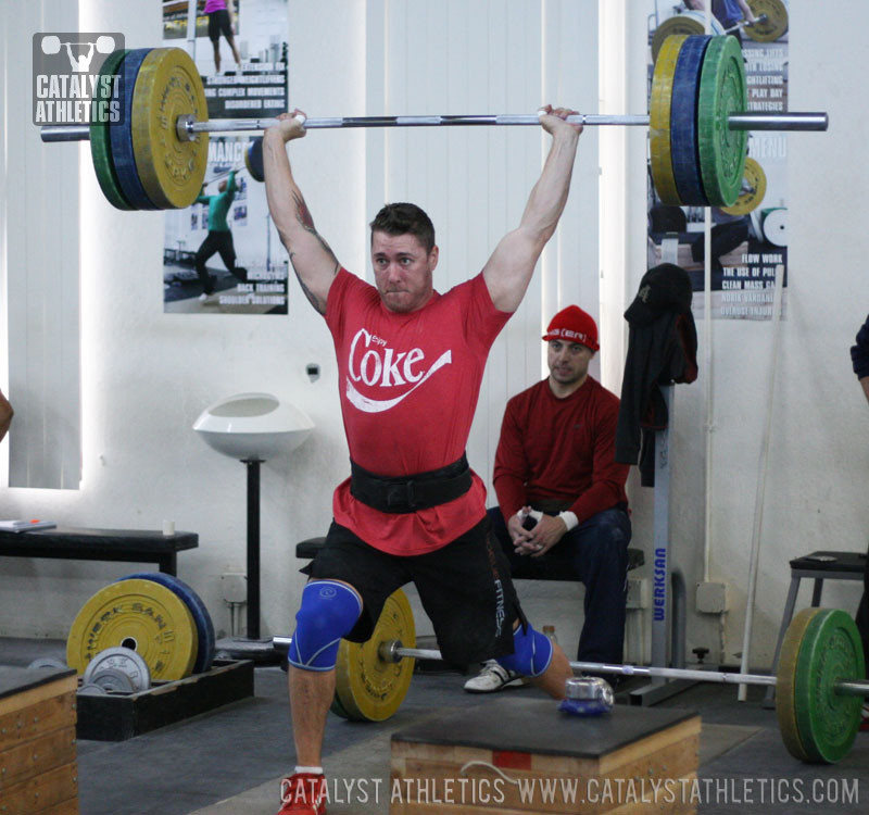 Tate Jerk - Olympic Weightlifting, strength, conditioning, fitness, nutrition - Catalyst Athletics