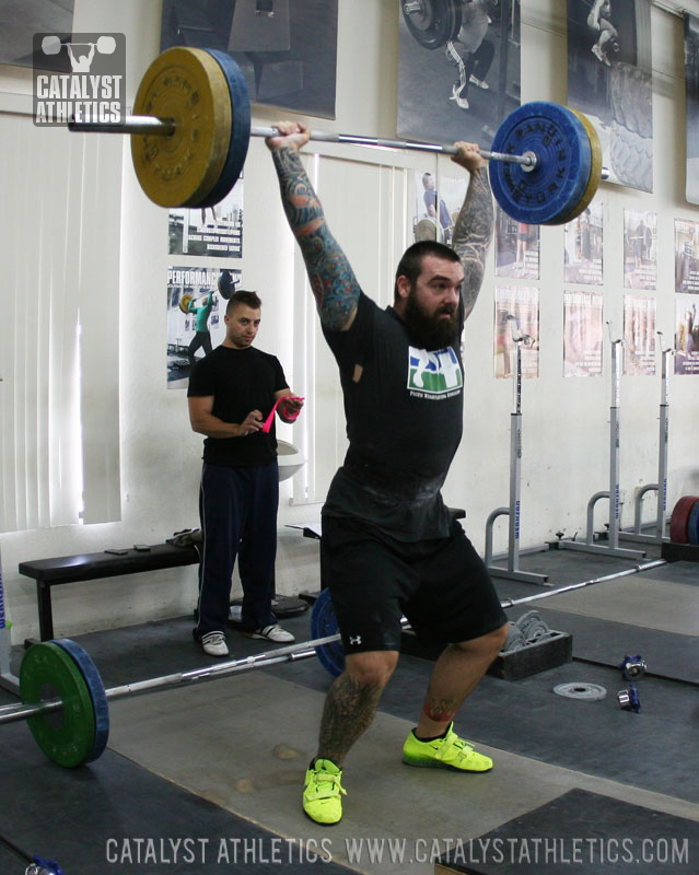 12 Week Basic Cycle Olympic Weightlifting Training