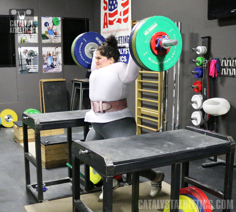 Tamara Jerk - Olympic Weightlifting, strength, conditioning, fitness, nutrition - Catalyst Athletics