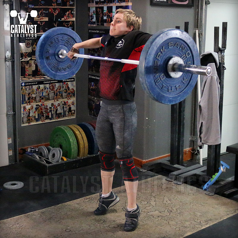 Amanda snatch high-pull - Olympic Weightlifting, strength, conditioning, fitness, nutrition - Catalyst Athletics