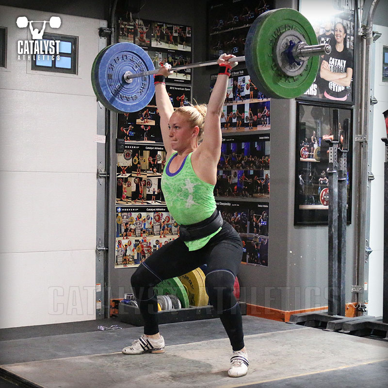 Chelsea power jerk - Olympic Weightlifting, strength, conditioning, fitness, nutrition - Catalyst Athletics