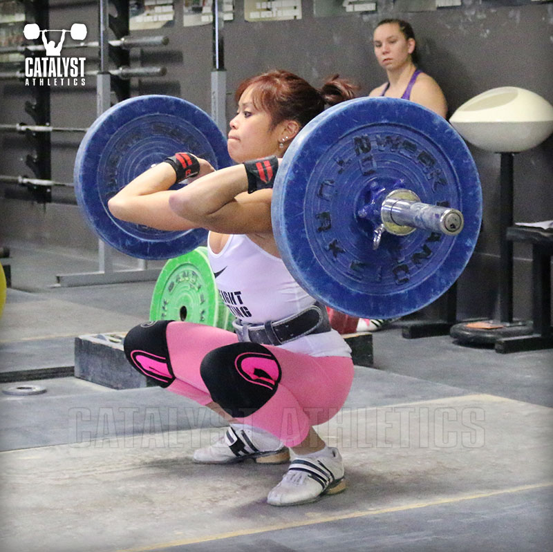 Jes clean - Olympic Weightlifting, strength, conditioning, fitness, nutrition - Catalyst Athletics