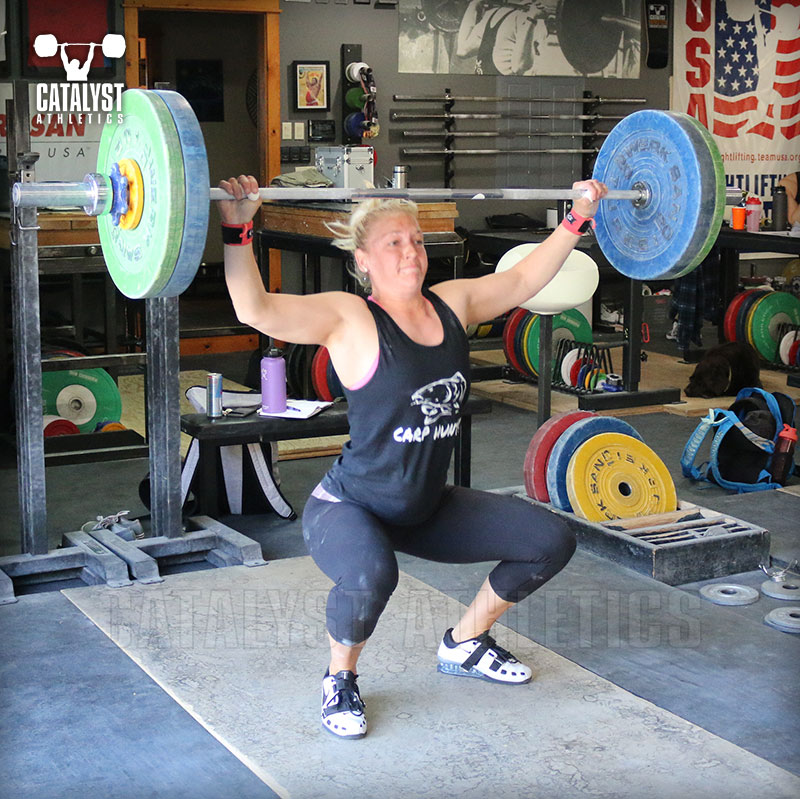 Chelsea snatch - Catalyst Athletics Olympic Weightlifting