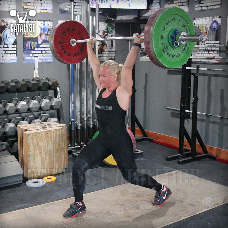 Sarabeth jerk - Olympic Weightlifting, strength, conditioning, fitness, nutrition - Catalyst Athletics