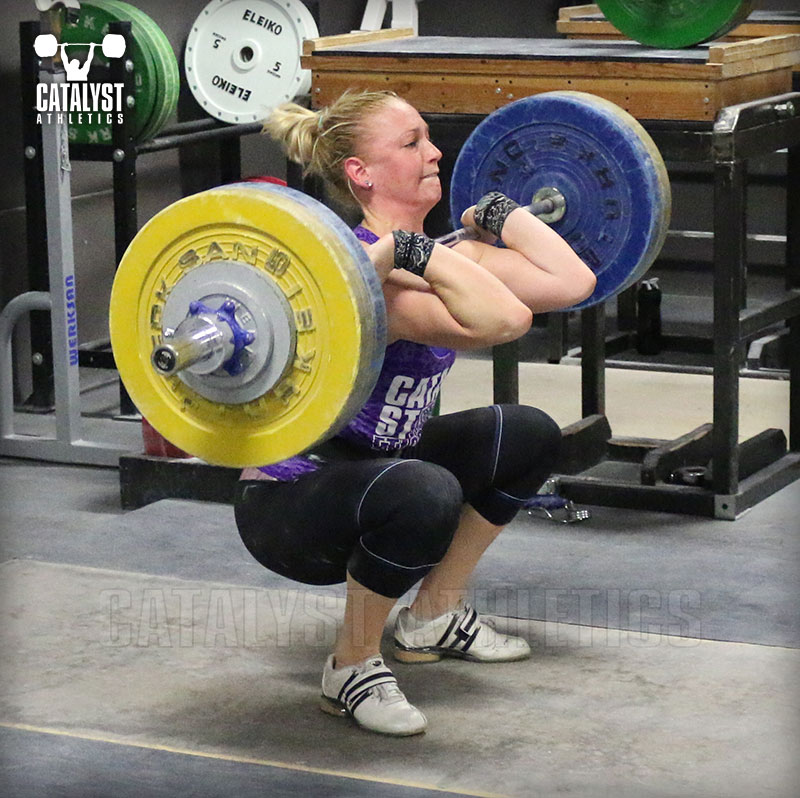 Chelsea clean - Olympic Weightlifting, strength, conditioning, fitness, nutrition - Catalyst Athletics